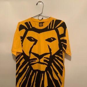 Disney lion king simba  Movie T-shirt Large